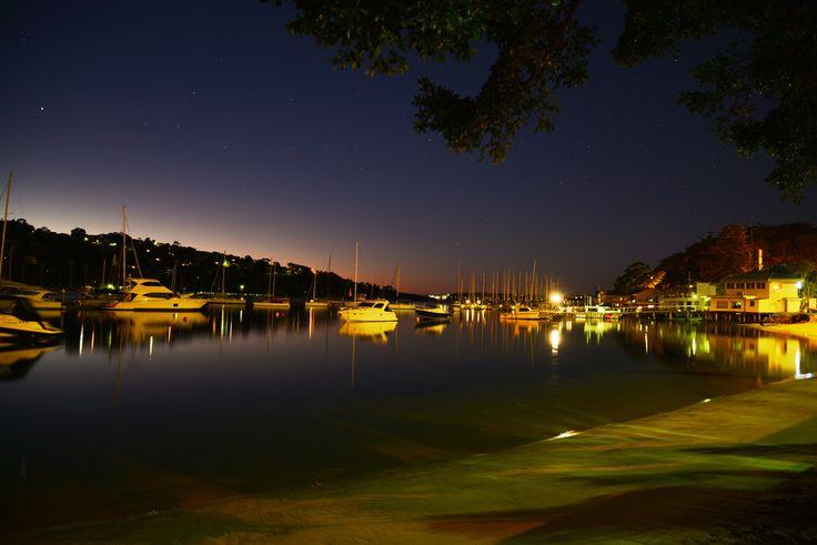 The Spit Bridge marina before dawn by Patty Jansen on 500px