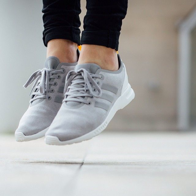 Adidas ZX Flux Smooth 'Solid Grey/Solid Grey/Solid Gold' available now
