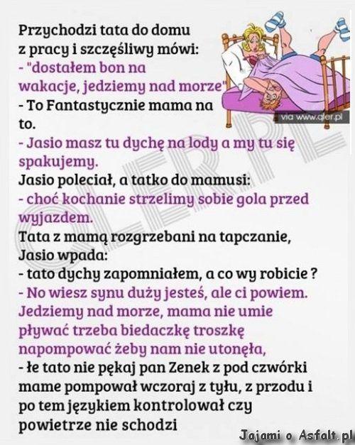 Pan Zenek wszystko kontroluje. :D