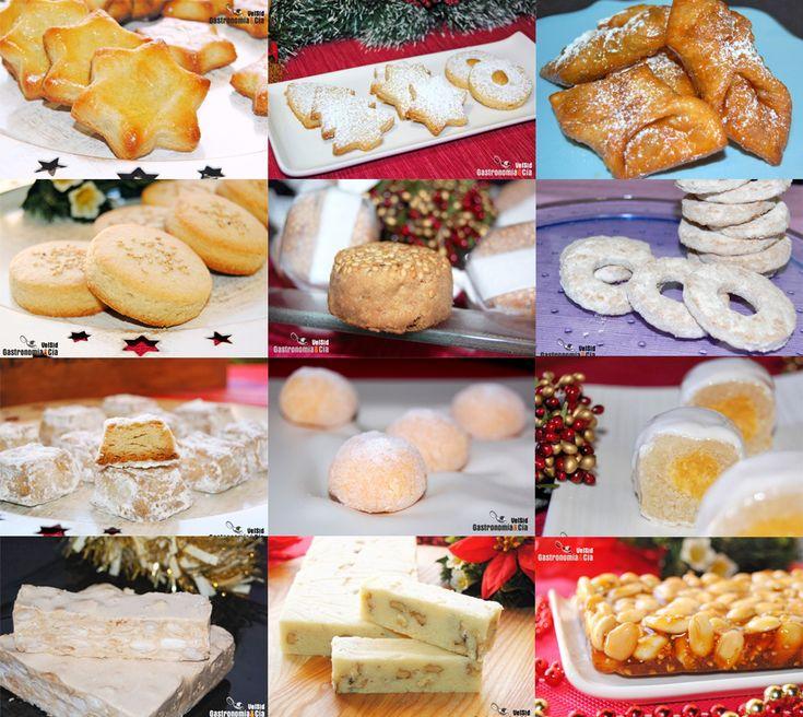 Doce recetas de dulces tradicionales de Navidad