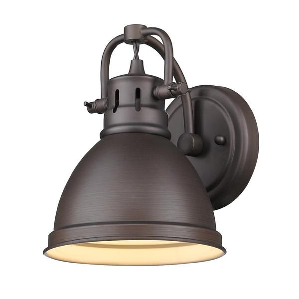 industrial bathroom lighting. duncan bath light bronze metal shade industrial bathroom lighting