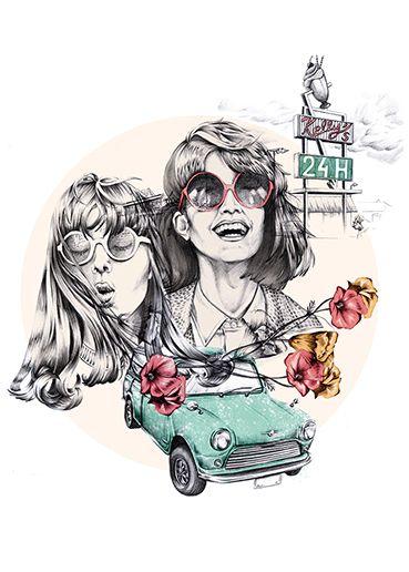 """""""Road trip"""" by Ewelina Dymek"""