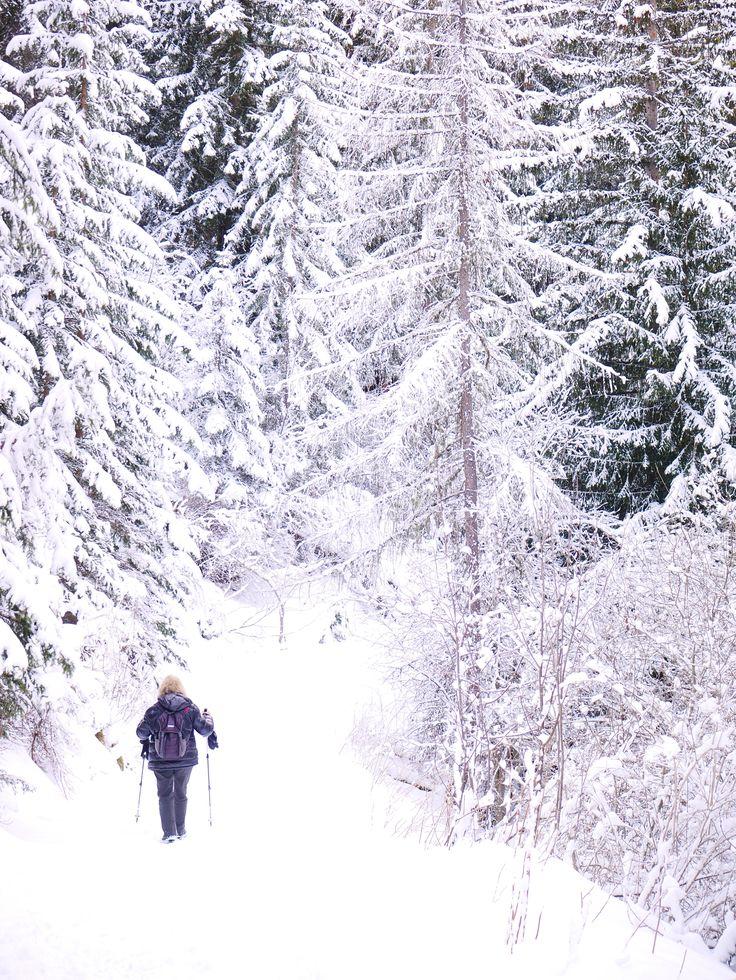 Chemin du petit bonheur, Lanslevillard, Savoie, photo prise par Valérie Coutrot.