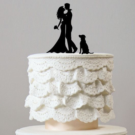 dog cake toppers for wedding cakes 17 best ideas about wedding anniversary cakes on 3644