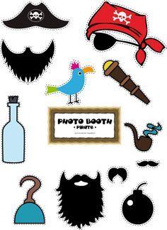 Photobooth pirate à télécharger