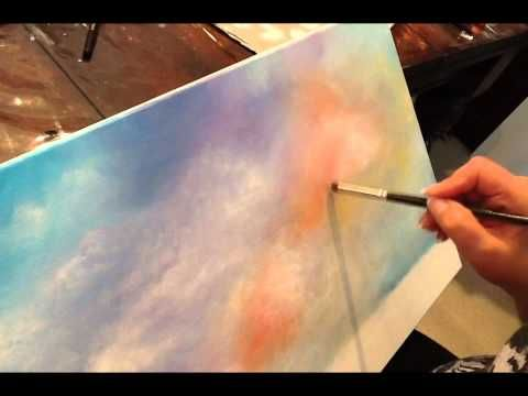 Acrylic Painting Techniques: Clouds: Learn to Paint