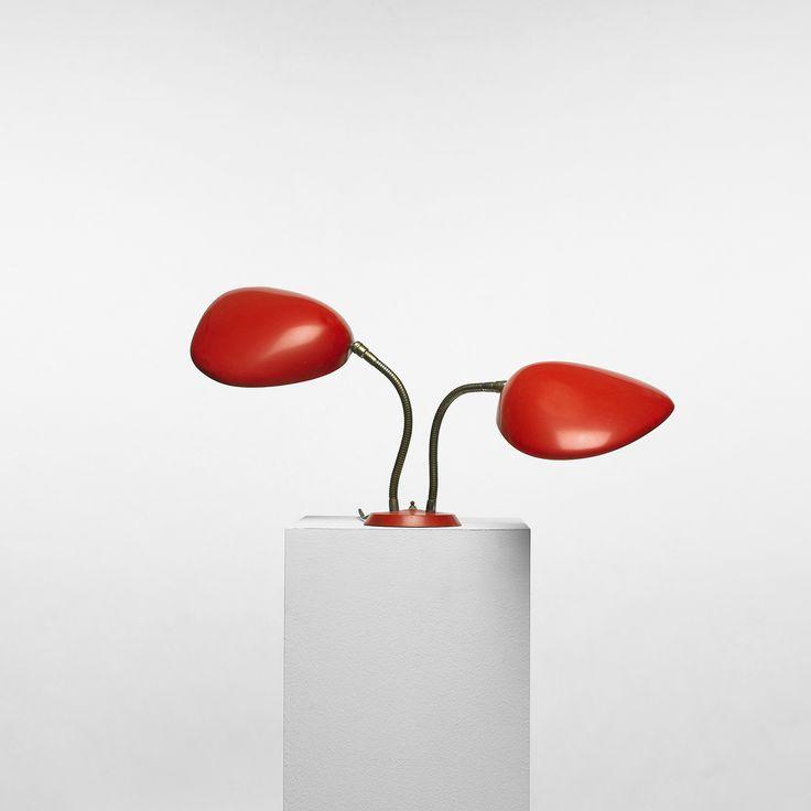 grossman lighting. u0027double cobrau0027 table lamp by greta magnusson grossman 1948 lighting