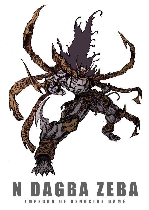 ン・ダグバ・ゼバEMPEROR OF GENOCIDE GAME