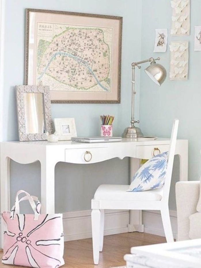 Girly Buro Dekor Ideen Mit Nach Hause 43 Top Fotos Ideen Fur Girly Schrank Dekor Fotos Girly Idee Home Office Space Girly Office Decor Home Office Design