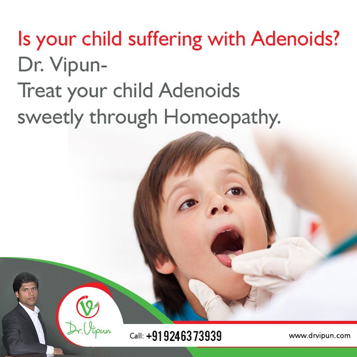 Is your child suffering with Adenoids? Dr. Vipun- Treat your child Adenoids sweetly through Homeopathy. For More Info Visit : http://www.drvipun.com For appointment call : ☎ 9246373939, ☎ 9963136745 ✉ drvipunr@gmail.com