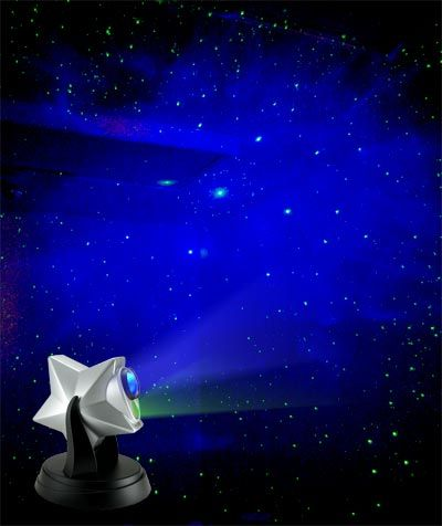 """Laser Twilight Stars Projector"" by Can You Imagine, sold at ThinkGeek.com. It"