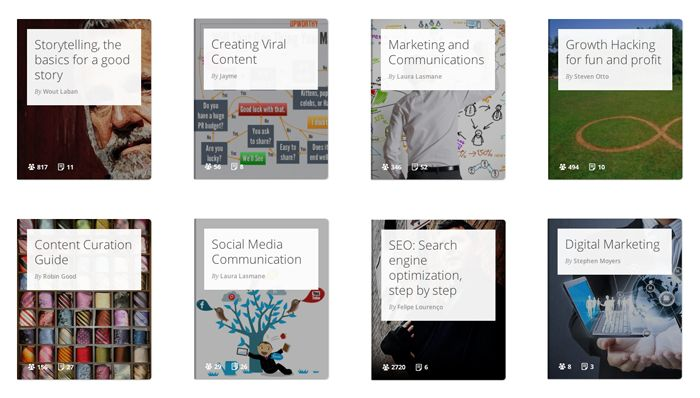 You can now learn everything about #marketing on Gibbon!