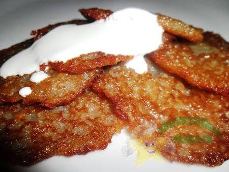 Вкусные картофельные драники без яиц