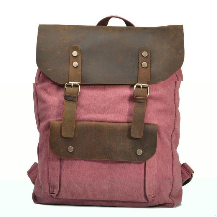 Color:Rose Red/Coffee/Blue/Green/Gray/Army Green  Material:canvas  Size:45CM(17.71) * 33CM(12.99) * 10CM(3.94) style:Europe&America  shape:vertical and square  Openings:pumping with hasp  Hardness:Hard  Fashion elements:decorative belt  Pattern:pure   Simple and elegant design, built-in zipper bags can be put inside the wallet, mobile phone and so on. Bag clamshell uses magnetic closure, faster and more convenient. Using the first layer of leather material, enhan...