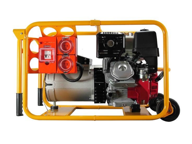 New PH08024000 - 6,800W Petrol Powerlite Generator, Powered By A 13hp Honda Engine Recoil Start With Work Cover Spec for sale