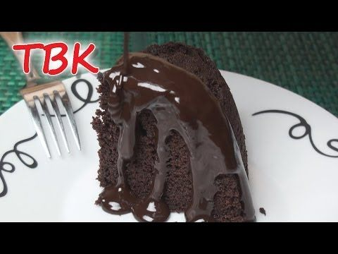 Chocolate Sponge Pudding with Hot Chocolate Sauce Recipe - Titli's Busy Kitchen - YouTube