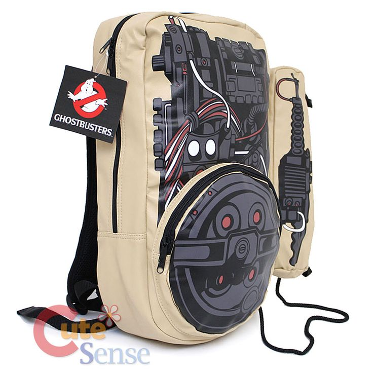 Ghostbusters Proton pack backpack... how frickin' cool??