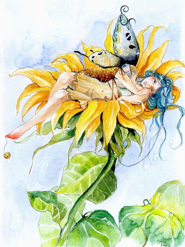 его цветы фэнтези карандашом картинки трогонтериевого мамонта вот