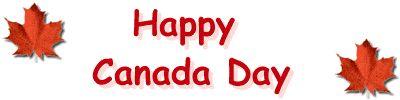 Happy Canada Day - Canada Day Clipart - CKA