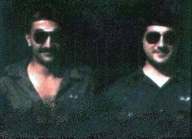 Elie Hobeika and Bachir Gemayel