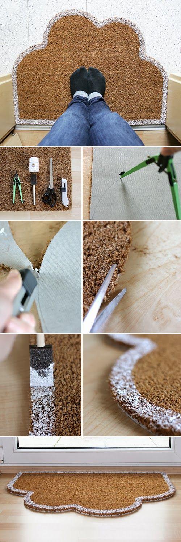 Gingered Things - DIY, Deko & Wohndesign: Auf Wolken stehen - Fußmatte
