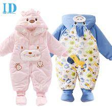 Arabacılarla bebek giysileri yeni doğan sonbahar kış sıcak erkek bebek giysileri erkek ve kız bebek uzun- kollu romper bebek eşyaları tulum jy056(China (Mainland))