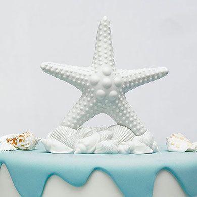Starfish Cake Topper, 8 oz.