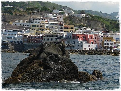 """""""The Roja Rock"""", Sant'Angelo d'Ischia, Italy."""