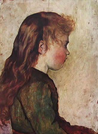 GIOVANNI FATTORI-Gotine rosse, cm. 40 x 29 Galleria d'Arte Moderna di Torino