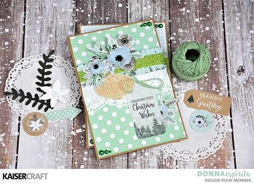 'Merry and Bright' Christmas Card Inspiration by Donna Espiritu Design Team member for Kaisercraft Official Blog. Featuring their October 2017 'Christmas Wishes' collection. Learn more at kaisercraft.com.au - Wendy Schultz - Wendy Schultz - Kaisercraft Projects.