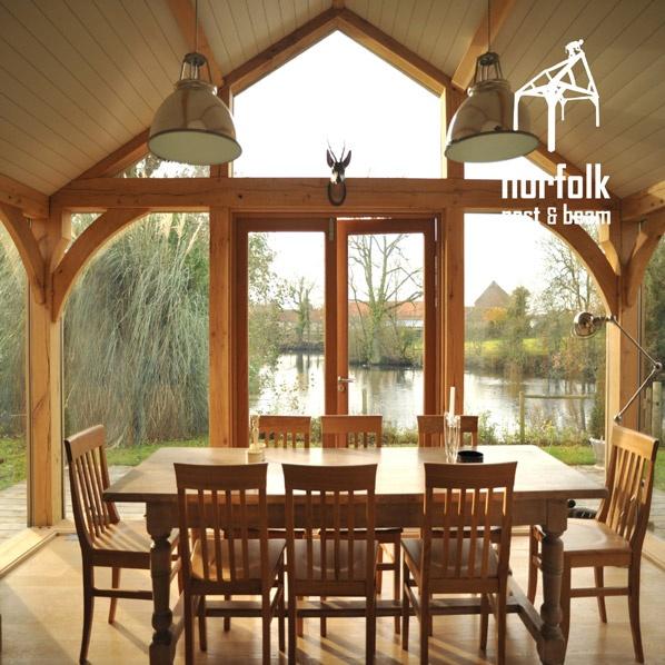 Oak Framed Buildings, Portfolio, Solid Green Oak