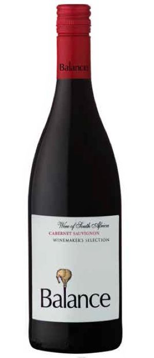 Tuesday, 14 January 2014. Home. Balance Winemaker's Selection Cabernet Sauvignon. A full bodied wine with intoxicating flavours of blackberries, cherries and nuts with nuances of dark chocolate ending in velvety tannins. http://www.balance-wines.co.za