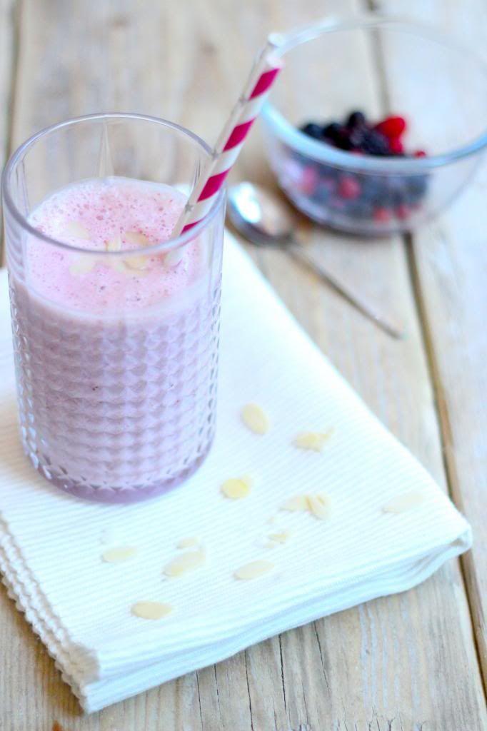 Aardbeien milkshake - Lekker en Simpel