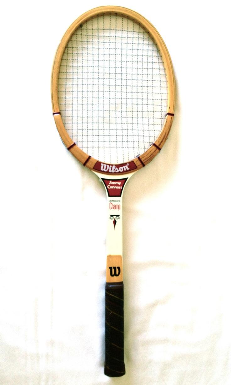Wilson Jimmy Connors Professional Champ Vintage Wooden Tennis Racquet 4 5 Light | eBay