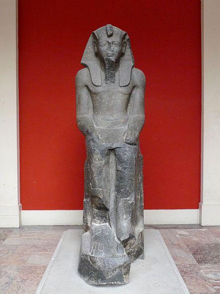 Statue de Ramsès II - Palais Universitaire de Strasbourg - région Alsace - France
