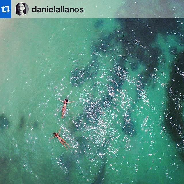 I really love finding our happy clients enjoining our bikinis and having a blast!!! Thanks for sharing this amazing pic!!!! #floating #drone #sea #beach #water #aerial #swimwear #beachwear #bikini #alejaradiswimwear #wanderlust #ootd #yolo #colombiandesign #colombiatravel #hechoencolombia