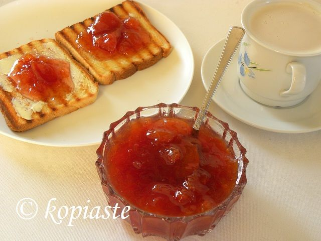 Peach and Nectarine Jam /  Μαρμελάδα Ροδάκινα και Νεκταρίνια http://www.kopiaste.info/?p=9645