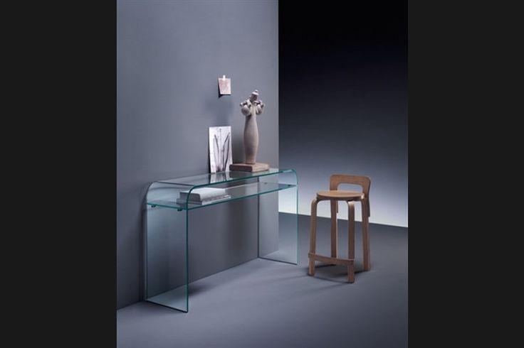 Design side-table ELEMENTARE | FIAM | Italian design | GlazenDesignTafel.nl | design by Enrico Tonucci | Interior design | vidre glastoepassingen, Leiden