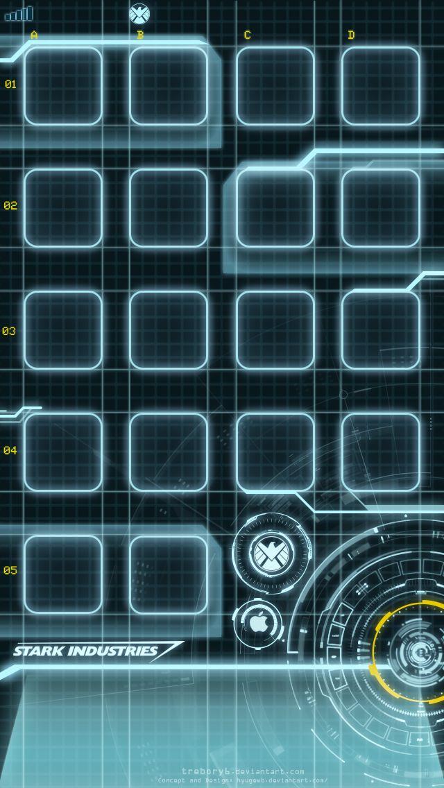 Iron Man iPhone 5 Wallpapers