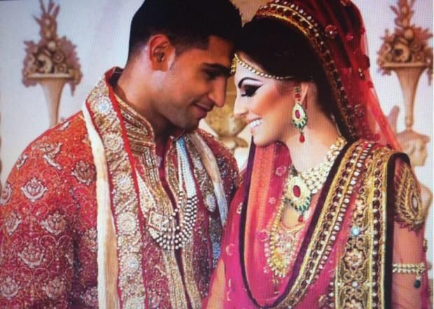 Amir Khan & Faryal Makhdoom Wedding/Marriage Picture - People Images & Photos