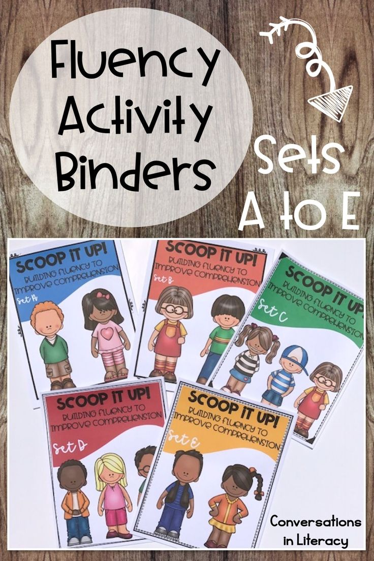 Fluency Activities that are fun for students to complete during small groups, word work and reading intervention times! Sight words, fluency phrases, games, and fluency passages with comprehension questions help students improve reading fluency in these no prep, just print and go reading intervention binders. kindergarten, first grade, second grade, third grade