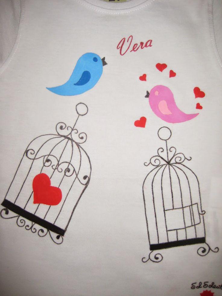 camiseta pintada velero - Buscar con Google