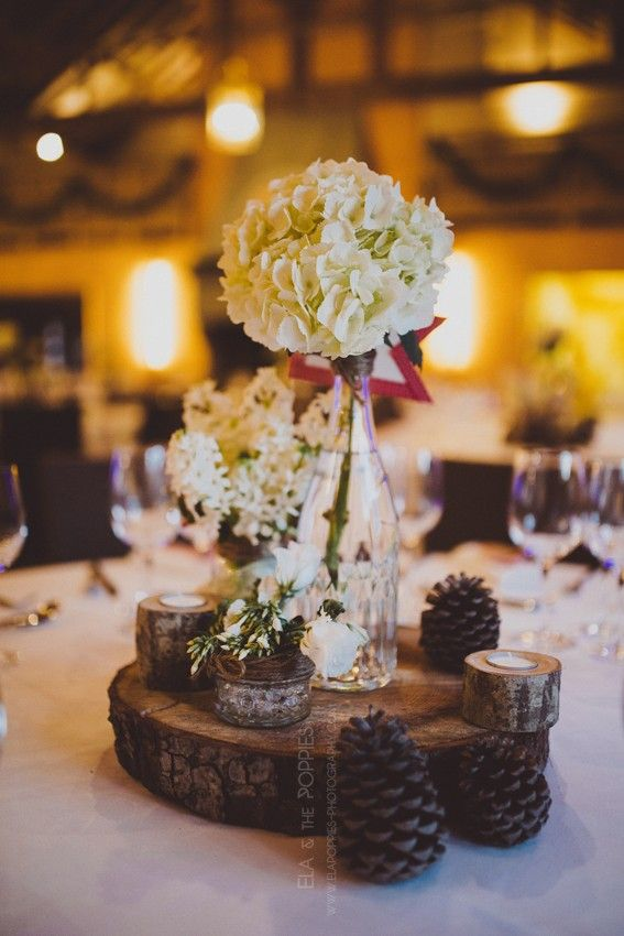 Pour Noël, les fleurs s'invitent a notre table ! #table #fleurs #noel