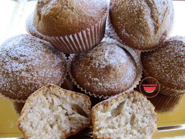 http://cocomerorosso.blogspot.it/2013/11/muffins-alle-nocciole-e-nutella.html Muffin alle nocciole e nutella