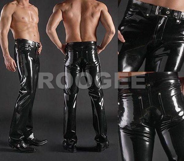 Nature Rubber Pants Men In Latex