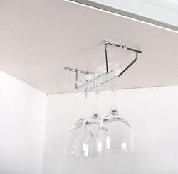 Vinglashållare hängande förvaring 3 glas