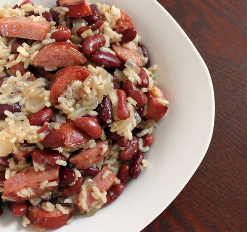 Wonderous!! I used brown rice instead of white and more creole seasoning (oldbay). Next time i want to add fresh jalopeno and green peppers to add some color. Very filling and satisfying. WILL make again!    really want to try this!    Red beans & rice
