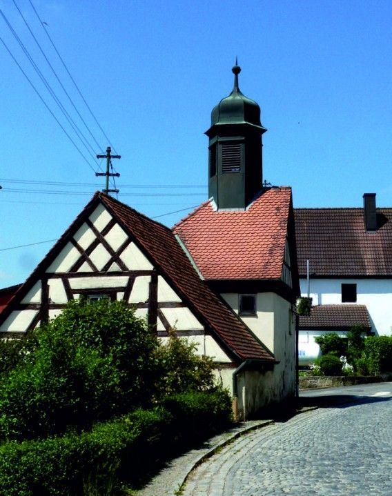 Burghaslach-Oberrimbach, Kapelle St. Sebastian (Neustadt a/d Aisch-Bad Windsheim) BY DE