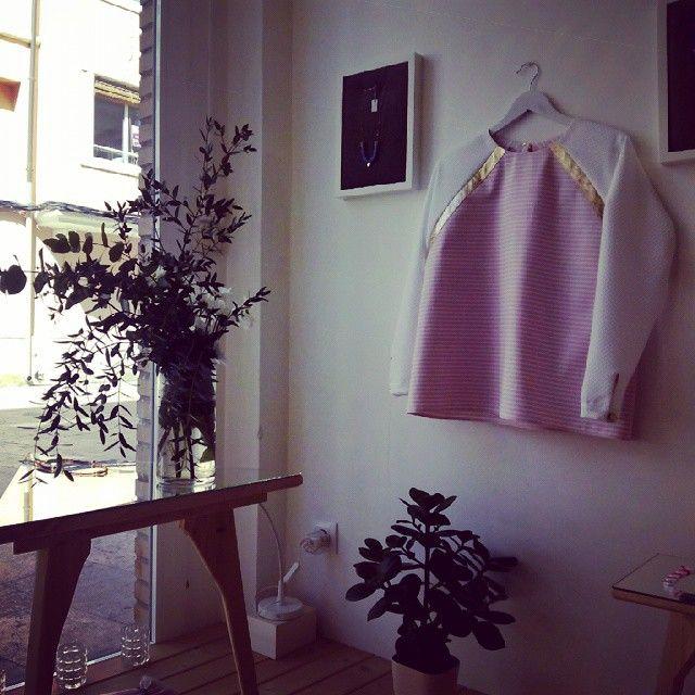 En la tienda-taller Proko (calle Viola 2), una artista que nos sorprende una y otra vez con sus joyas y complementos creativos e increibles #zaragoza