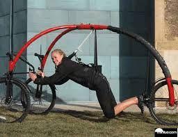 realmente esta bicicleta é coisa de louco !!!